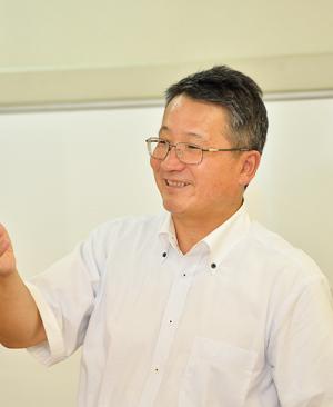 FHS本部代表 内海 久俊
