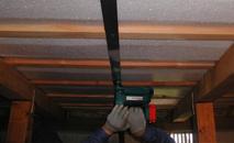 床下工法施工写真