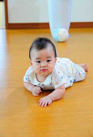 床面が高温になりすぎないので小さなお子さんも安心