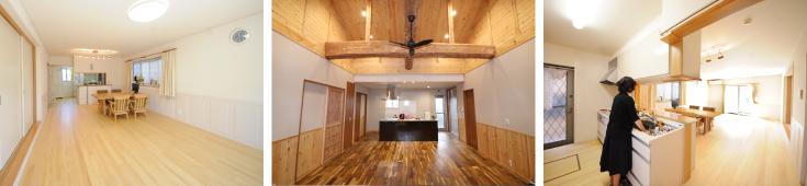 リボンガス 遠赤外線温水床暖房「ユカカラ暖房」一般住宅向けの施工事例