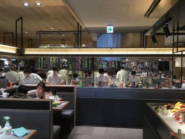 札幌市 回転寿司 根室花まる南郷店 温水床暖房 施工事例